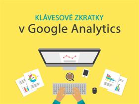 Využíváte klávesové a přehledové zkratky v Google Analytics?