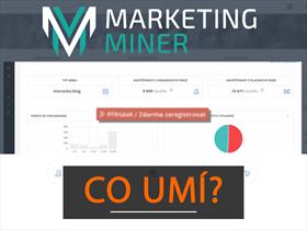 Marketing Miner: unikátní nástroj pro každého markeťáka