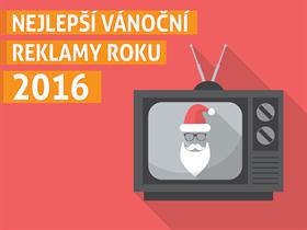Nejlepší vánoční reklamy roku 2016
