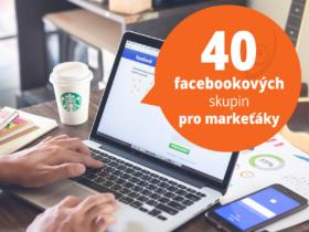 40 facebookových skupin pro markeťáky
