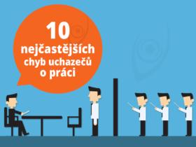 10 nejčastějších chyb uchazečů o práci