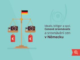 Idealo, billiger a spol. Cenové srovnávače a srovnávání cen v Německu
