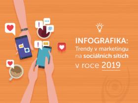 Infografika: Trendy v marketingu na sociálních sítích v roce 2019