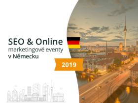 SEO & online marketingové akce v Německu 2019