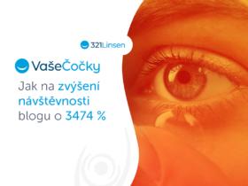 VašeČočky.cz/321Linsen.de: Jak na zvýšení návštěvnosti blogu o 3 474 %