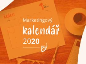 Infografika: Marketingový kalendář 2020. Přehled svátků, událostí a speciálních dnů roku