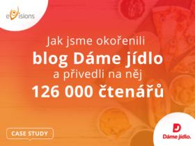 Case study: Jak jsme okořenili blog Dáme jídlo a přivedli na něj 126 000 čtenářů