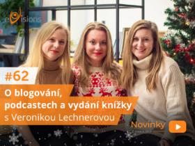 Novinky z onlajnu #62 –  O blogování, podcastech a vydání knížky s Veronikou Lechnerovou