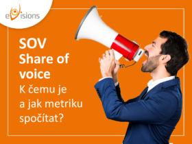 Share of Voice (SOV): K čemu je a jak metriku spočítat?
