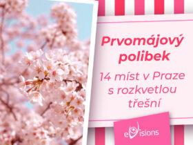 Prvomájový polibek: 14 míst v Praze s rozkvetlou třešní