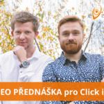 SEO přednáška pro Click it