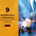 9 konferencí v Německu, které byste neměli propásnout