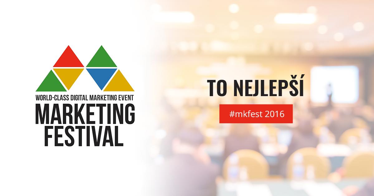 To nejlepší z Marketing Festivalu 2016 - eVisions.cz 5408e293b8
