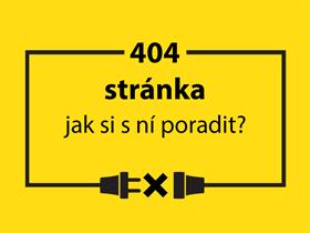 Jak si poradit se stránkou 404?