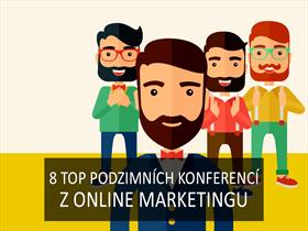 Nenechte si ujít 8 top podzimních konferencí z online marketingu
