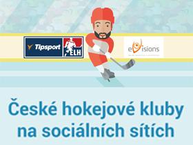Infografika: České hokejové kluby na sociálních sítích