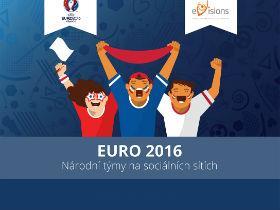 Infografika: Euro 2016 – Fotbalové reprezentace na sociálních sítích