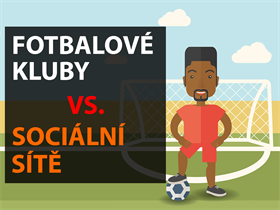 Infografika: České fotbalové kluby na sociálních sítích