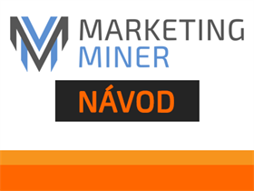 Návod: Marketing Miner – Market Prospector