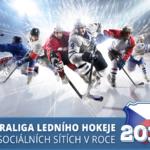Infografika: České hokejové kluby na sociálních sítích v roce 2017