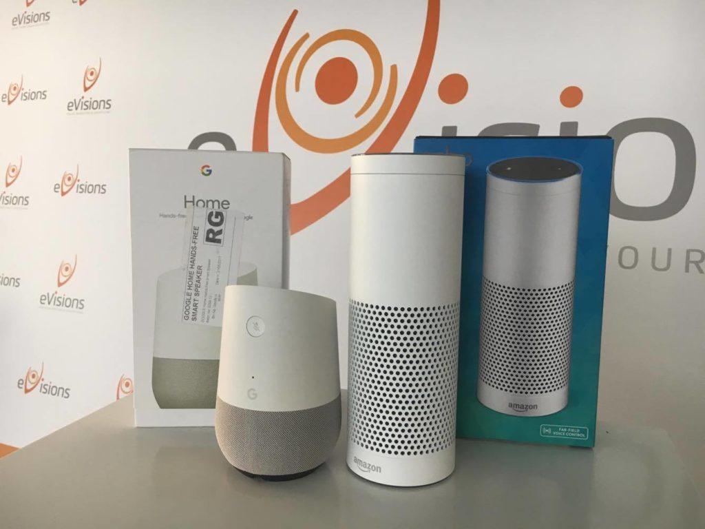 Hlasové vyhledávání eVisions