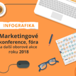 Infografika: Marketingové konference, fóra a další oborové akce roku 2018