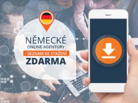 Německé online agentury – seznam ke stažení zdarma